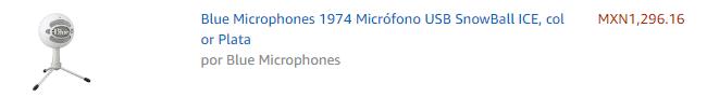 micrófonos para youtube USB