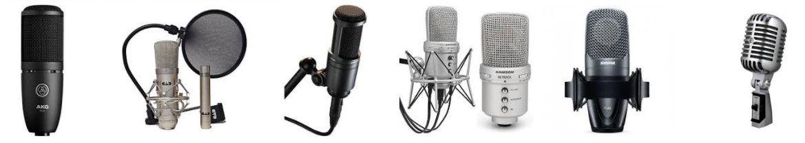 micrófonos para youtube variedad y calidad