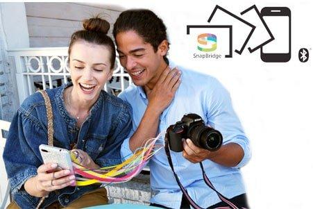 Conectividad de la Nikon D3500