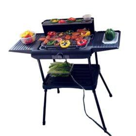 Asador Eléctrico-Electrical Grill con Termostato Ajustable 11