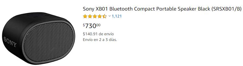 Mini Altavoz Sony