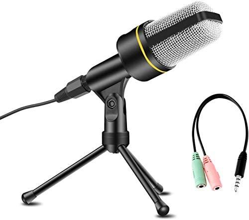 1606625947 Avedistante Microfono Con Soporte Para Pc Profesional Microfono Condensador Con.jpg