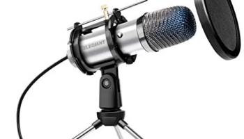 ELEGIANT Micrófono de Condensador