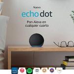 Nuevo Echo Dot (4ta Gen) – Bocina inteligente con Alexa – Negro
