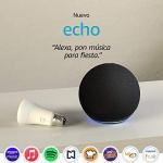 Nuevo Echo (4ta Gen) – Con sonido de alta calidad, hub de Casa Inteligente y Alexa – Negro