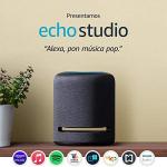 Echo Studio – Bocina inteligente de alta fidelidad con Alexa