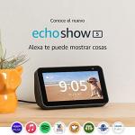"""Echo Show 5 – Pantalla compacta de 5.5"""" con Alexa – Negro"""
