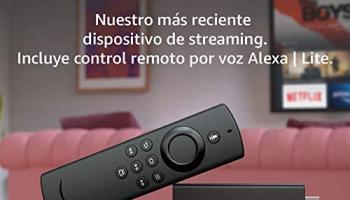 Presentamos el Fire TV Stick Lite con control remoto por voz Alexa  | edición 2020
