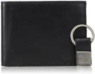 Calvin Klein portafolios plegable de piel con bloqueo Rfid Billetera para Hombre