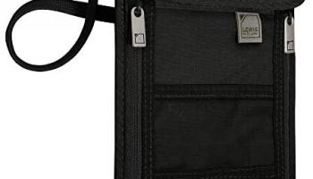 Lewis N. Clark RFID Cuello Stash, Rfid – portafolios