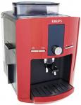 Cafetera Espresso Krups Automática Roja